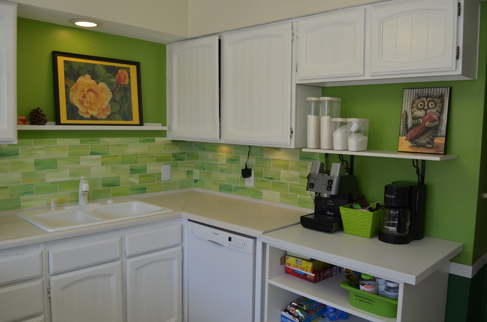 Kitchen Backsplash Green Glass Tile fine kitchen backsplash contact paper home design ideas r inside
