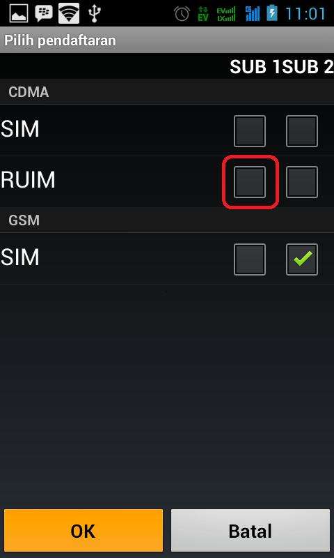 Cara Mengaktifkan Data GSM Pada Smartfren Andromax