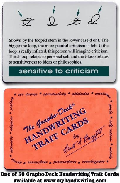 Handwriting Analysis Traits