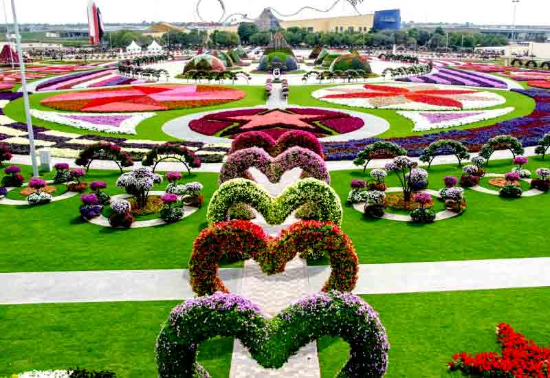 10 Most Beautiful Flower Garden in the World