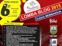 Lomba Blog 2015 Tentang Kabupaten Kudus, Ikut Yuk!