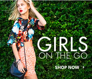 Girls On The Go: Shop New In!