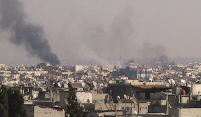 la proxima guerra ejercito rodea ciudad siria homs invasion masacre