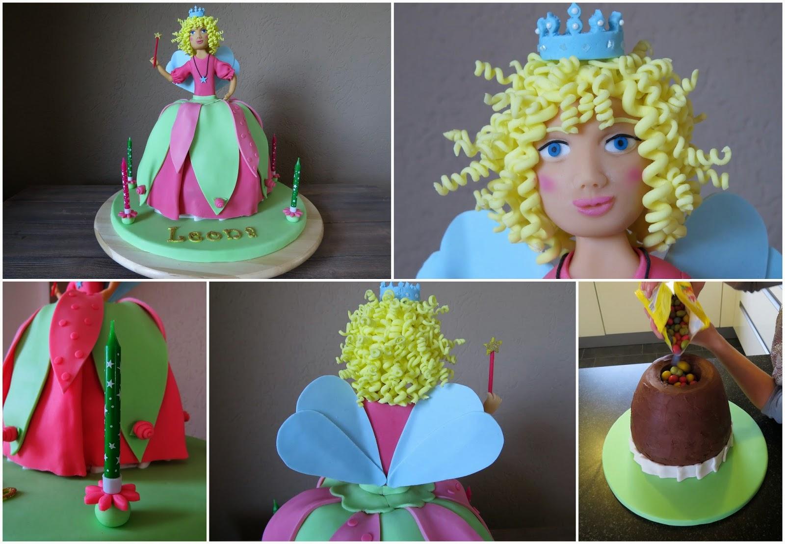 Backorphine Lillifee Kuchen Mit Uberraschung Teil 1