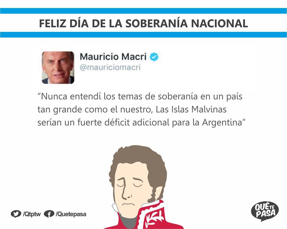 El Presidente Macri y la Soberanía