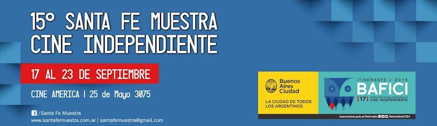 15º Santa Fe Muestra Cine Independiente