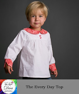 http://www.tiedyedivapatterns.com/product/long-sleeved-top-pattern-for-girls-peter-pan-collar-square-neck-more