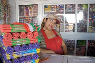 Mercado de Pirotécnia. Tultepec México
