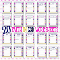 Faith In God Worksheets