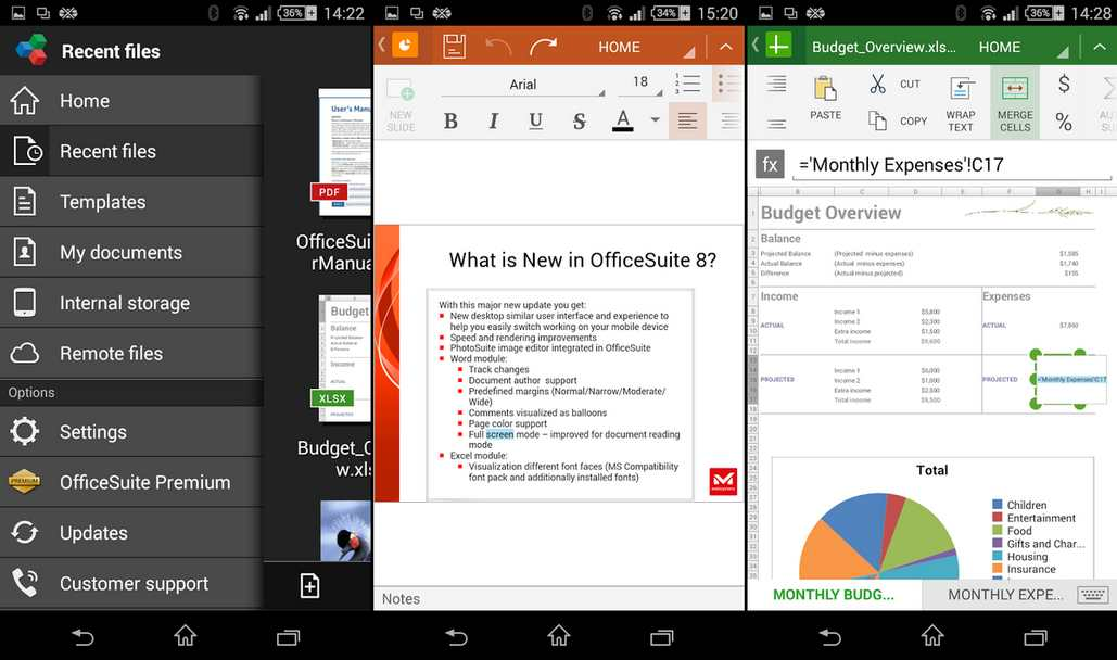 Aplikasi office suite 8 android