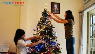 Cùng 3G Mobifone sẻ chia khoảnh khắc ý nghĩa của ngày Noel