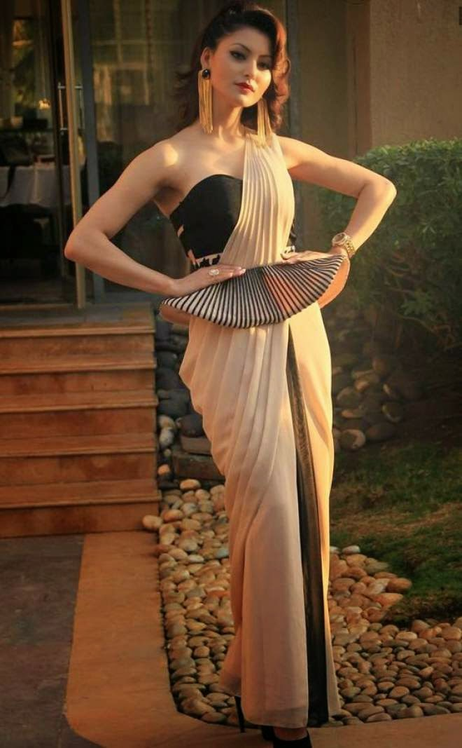 urvashi rautela latest hot off shoulder dress photos