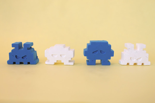 clay space invaders