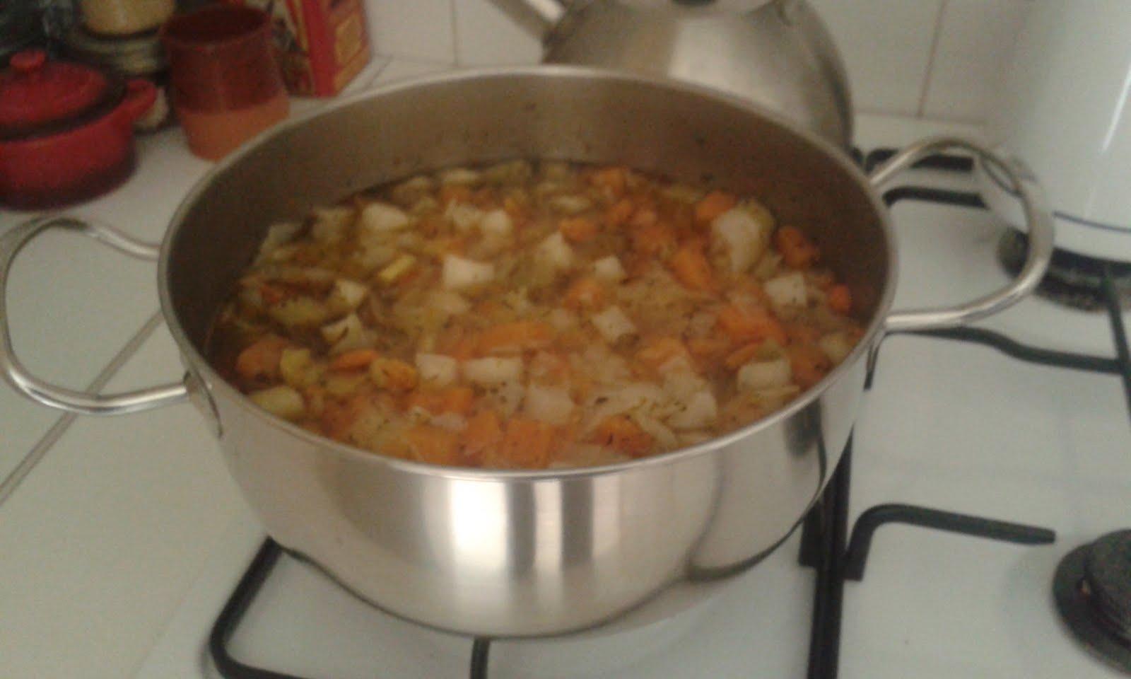 Les cr as de coco soupe de l gumes maison - Soupe de legume maison ...