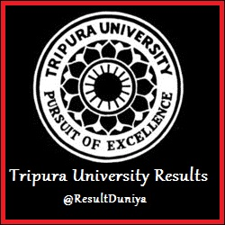 Tripura University BA BSc BCom 2nd Semester Result 2015