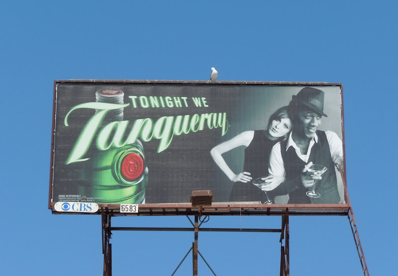 Tonight We Tanqueray gin billboard