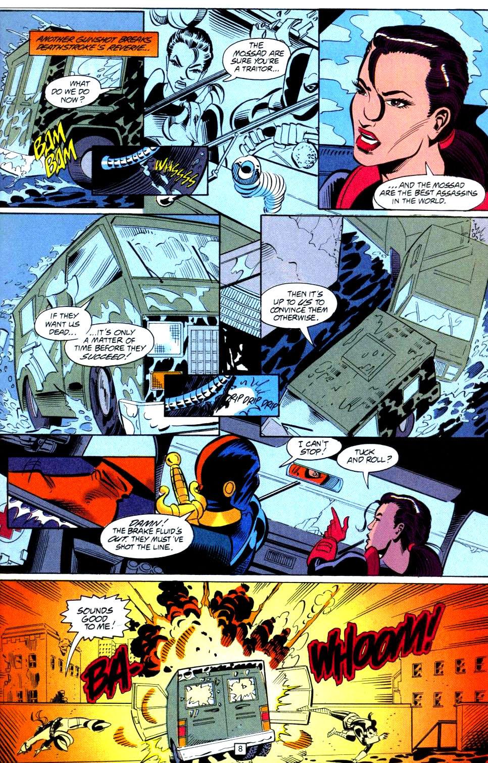Deathstroke (1991) Issue #38 #43 - English 9