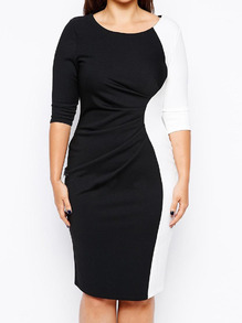 www.shein.com/Color-block-Round-Neck-Folds-Plus-Dress-p-233066-cat-1889.html?aff_id=2525
