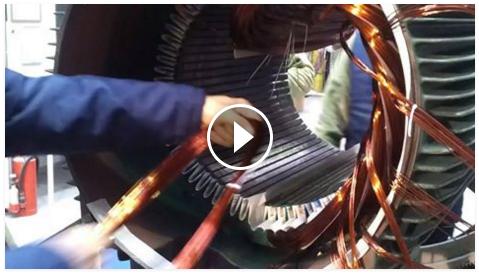Lemon Law California >> Winding of 250,000Watt Motor. | Electrical Engineering Blog