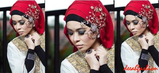 Model Jilbab Praktis Untuk Ke Pesta ChicLook