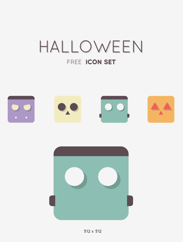 Halloween FREE icon set