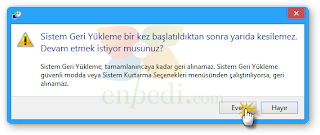 enpedi 15 11 17 Windows 8 Sistem Geri Yükleme Nasıl Yapılır