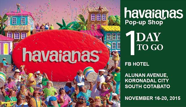 Havaianas Pop-up Shop comes to Koronadal