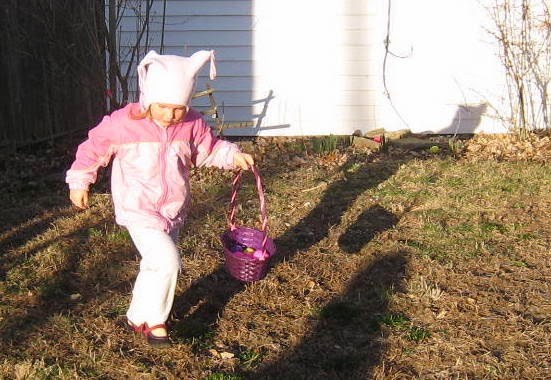 egg hunts for kids, girl hunting for easter eggs