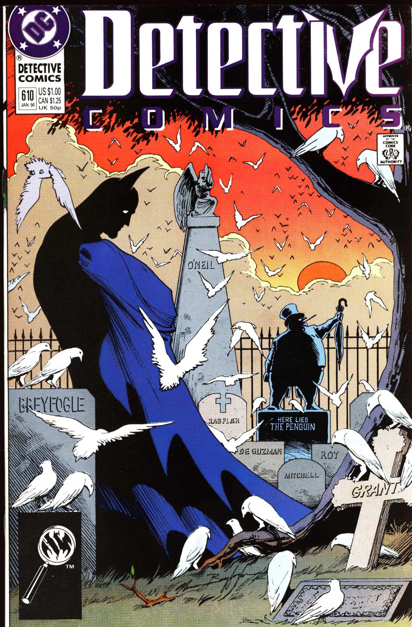 Detective Comics (1937) 610 Page 1