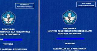Permendikbud Nomor 53 Tahun 2015 Panduan Penilaian Kurikulum 2013 Baru