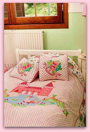 Dise o y decoraci n de la casa lindas fundas n rdicas holandesas para la cama de ni as y ni os - Fundas nordicas diseno ...