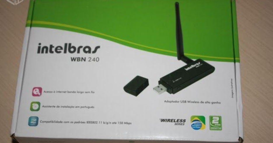 intelbras wbn 240 driver windows 7 64 bits