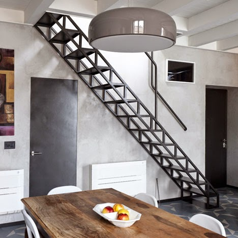 Metal Stairs Strength Weight And Flexibility Stairs Designs