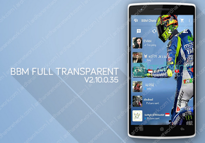 Download BBM Mod Full Transparent V2.10.0.35 APK