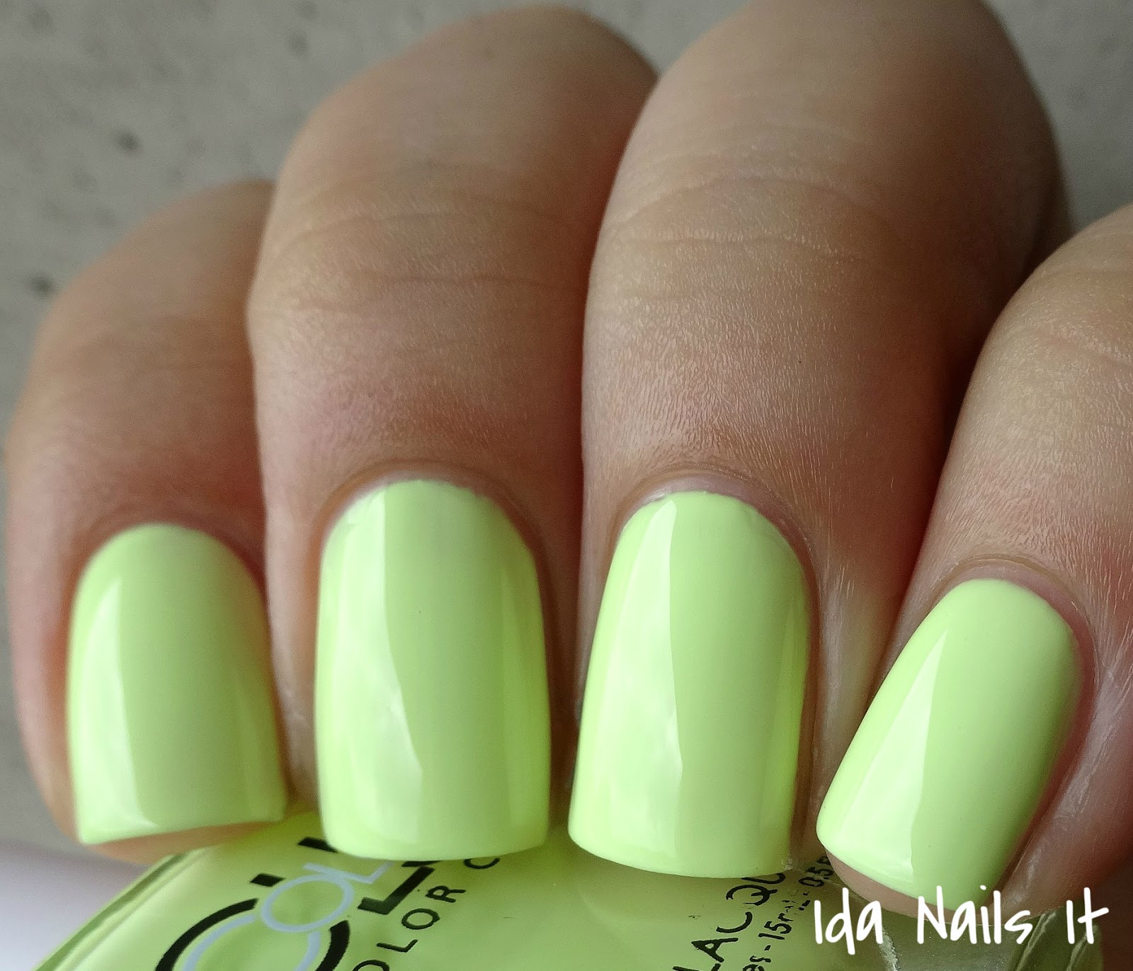 Ida Nails It: Color Club Poptastic Pastel Neon Collection: Swatches ...