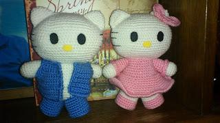 Hello Kitty жених и невеста