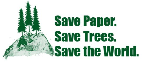 Image result for don't print save a tree