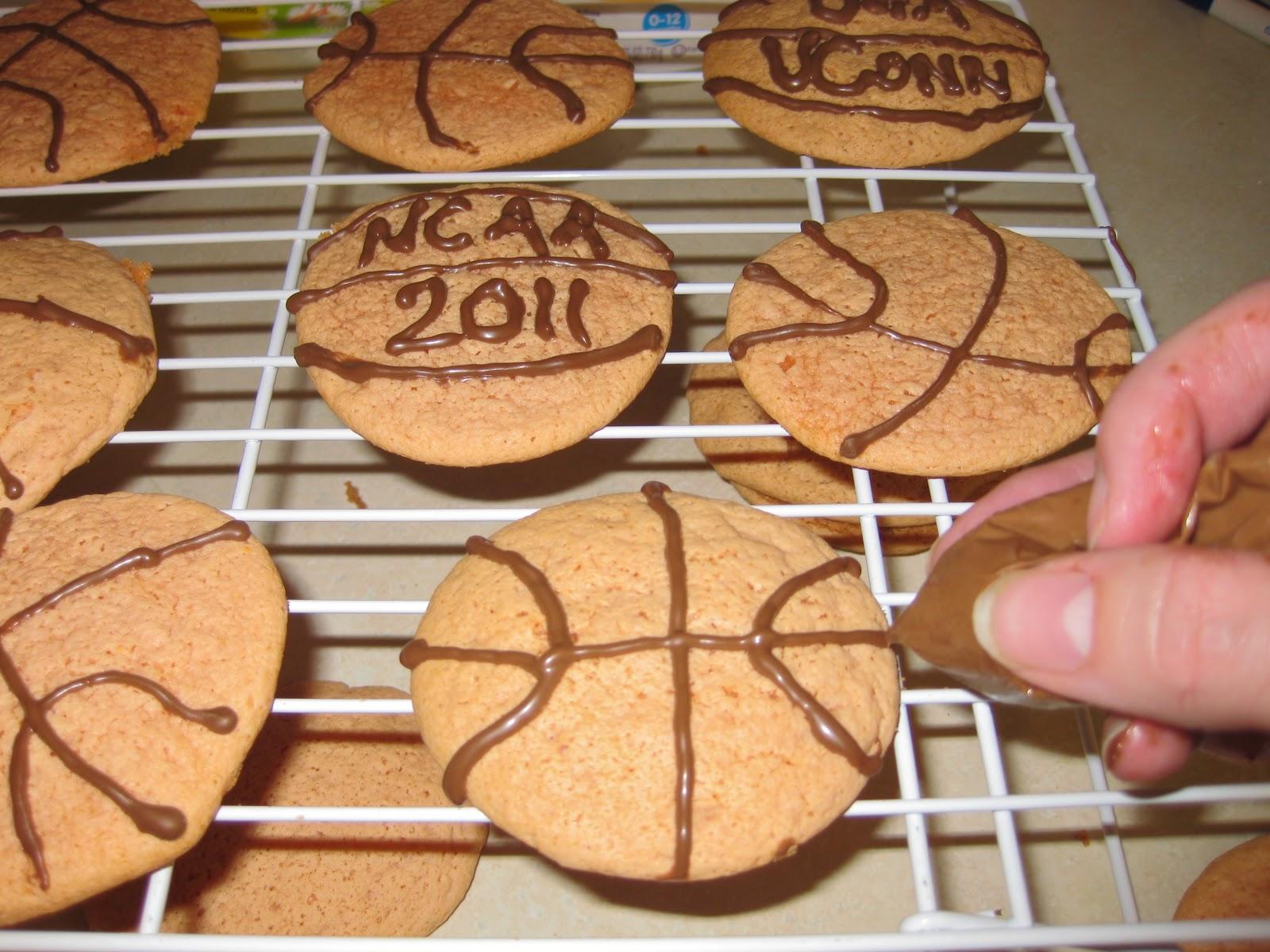 Flat Basketball Cake