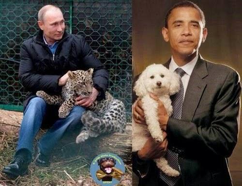 Obama Putin Komik