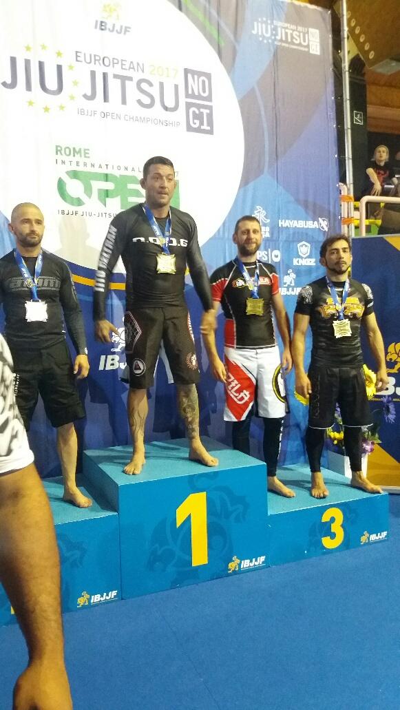 campione europeo no gi 2017 e bronzo all'assoluto