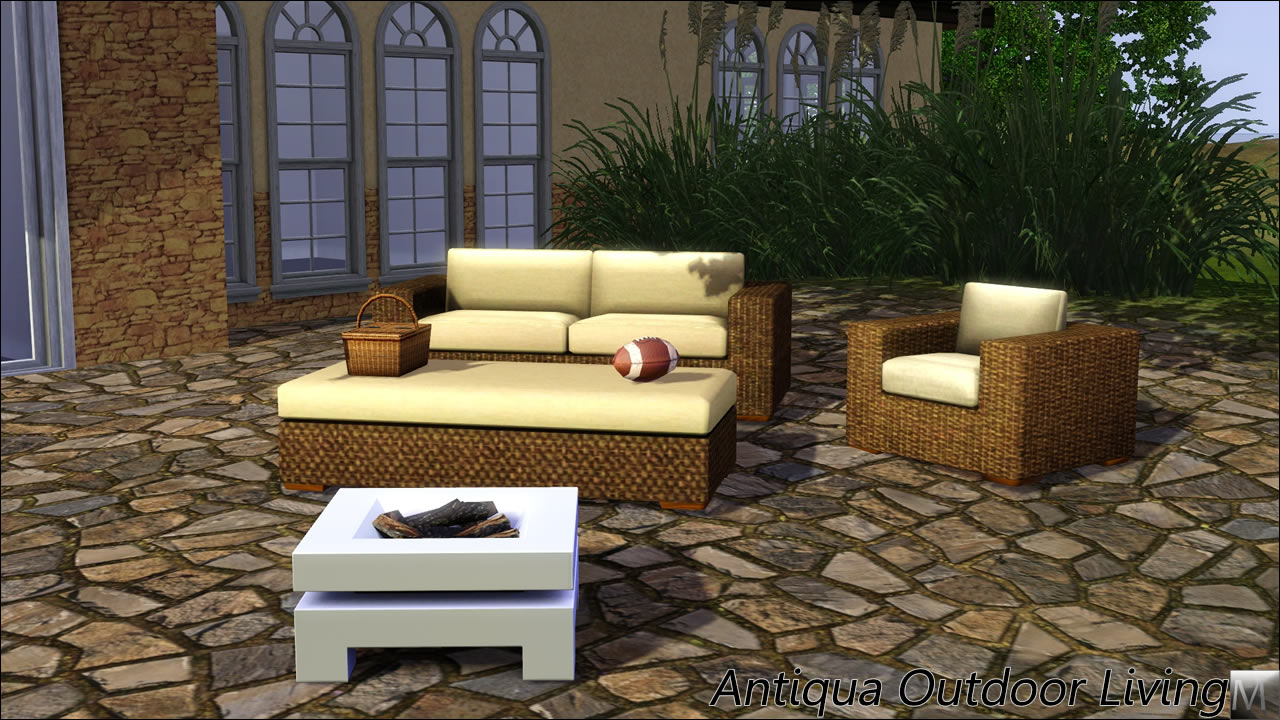My Sims 3 Blog Antiqua Outdoor Living Set By Morphead