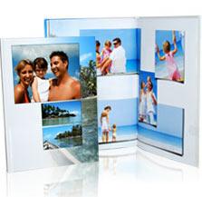 Álbum de fotos clásico en tamaño A4
