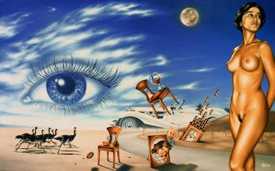 Andrej Gorenkov 1969 | pintor surrealista rusa
