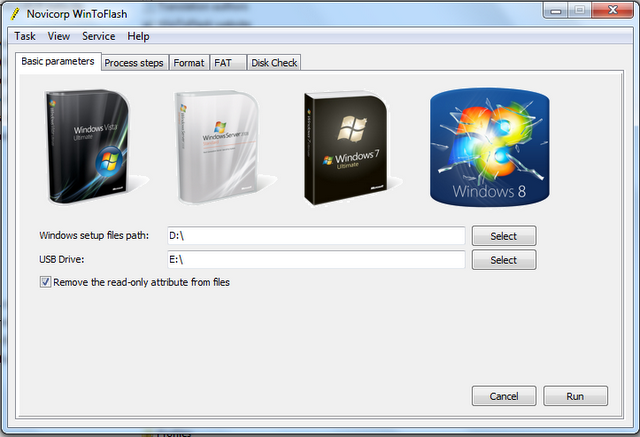 Click Create button to begin the bootable USB process. Wait for few