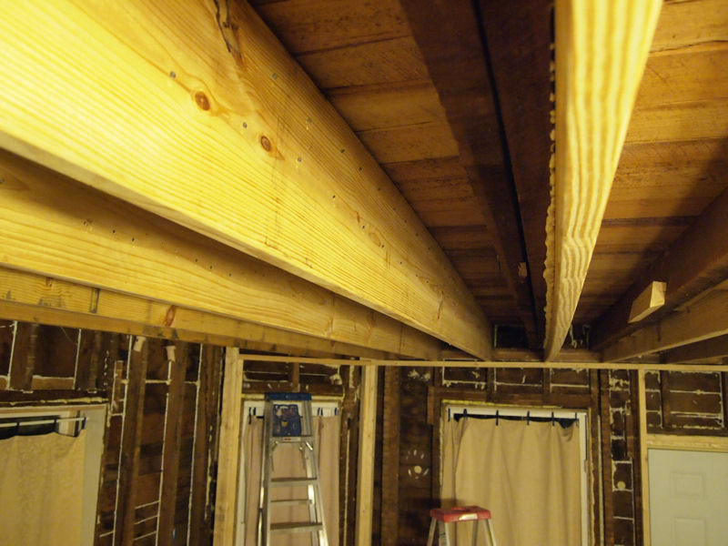 Super Insulated Efficient Farmhouse Joists A Window And