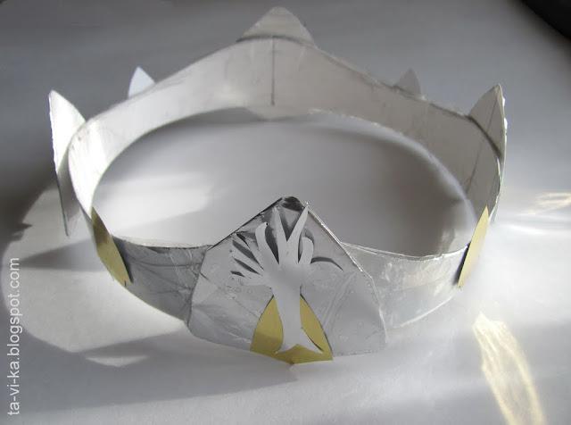 корона из бумаги papers crown