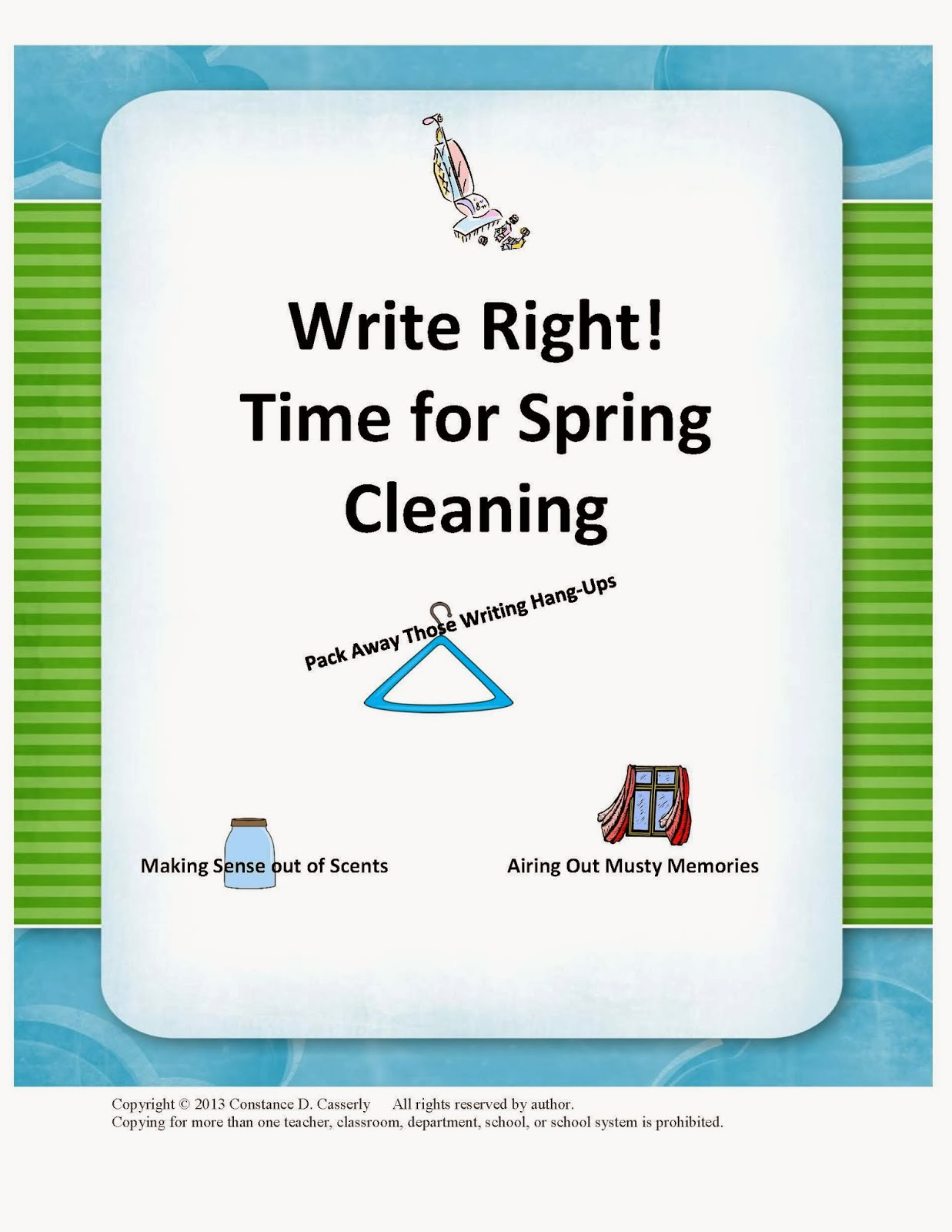 Write Right! Time for Spring Cleaning cover