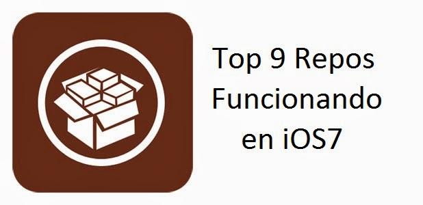 Top 9 Repos funcionando en iOS 7