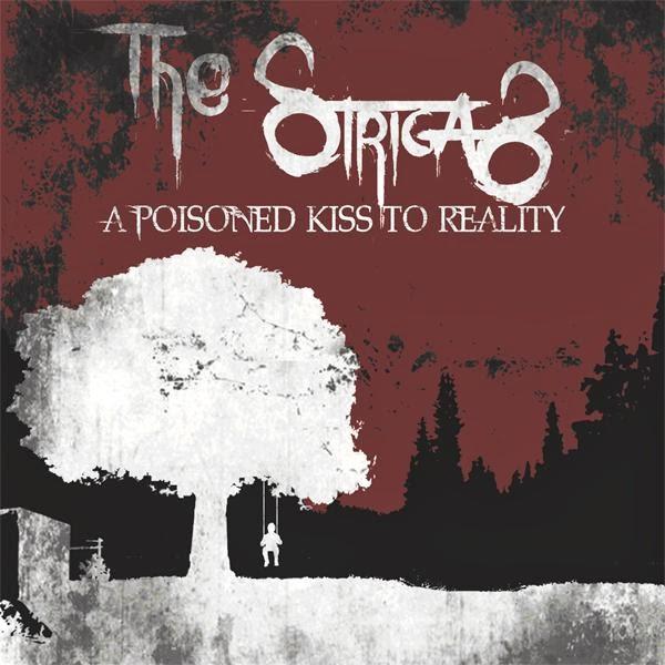La copertina del disco di debutto dei The Strigas