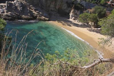 Sa Cova beach in Platja d'Aro